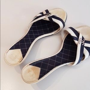 Channel sandals 36.5